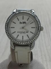 クォーツ腕時計/アナログ/レザー/W6051