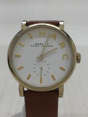 クォーツ腕時計/アナログ/レザー/MBM1316