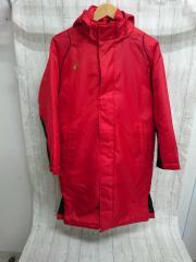 コート/150cm/ポリエステル/RED