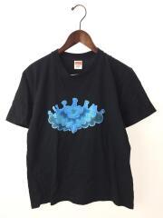 SS19 Supreme Cloud Tee/S/コットン/BLK/プリント