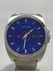 Paul Smith ポールスミス/クォーツ腕時計/アナログ/F335-T010482/フェイス小傷有