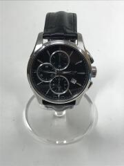 CALLIBER/キャリバー/自動巻腕時計/アナログ/レザー/BLK/H325960/箱有///クロノグラフ///