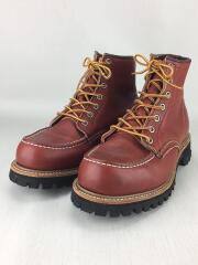 ブーツ/24.5cm/BRD/08175-1/97年製 半円犬タグ 8175/モックトゥブーツ/
