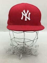 キャップ/7 3/8/RED/ニューヨークヤンキース/ベースボールキャップ/59FIFTY