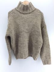 セーター(厚手)/FREE/ウール/BEG/12020538/20AW/Mix Wool Knit