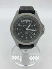 HAMILTON×NEIGHBORHOOD/腕時計/H644610/カーキ/KHAKI