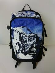 Mountain Expedition Backpack/NM717551/17AW/雪山/ポリエステル/ブルー/バックパック リュック ×THE NORTH FACE