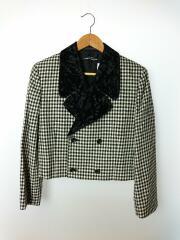 テーラードジャケット/M/ウール/BLK/ブラック