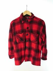 winter king/ネルシャツ/--/ウール/RED/レッド/チェック