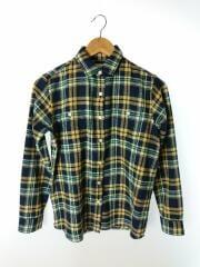 サーモライトフランネルシャツ/NRW61508/ネルシャツ/S/ポリエステル/NVY/ネイビー/チェック