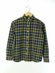 NRW61507/シャギー/ネルシャツ/S/コットン/ネイビー/チェック