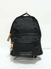 SMALL BACKPACK NYLON VARSITY PACK/M0013945/リュック/ナイロン/ブラック