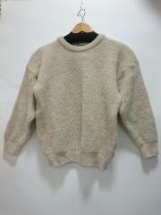 セーター(厚手)/--/ウール/IVO/アイボリー