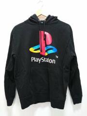 COSPA/PlayStation/パーカー/L/コットン/BLK/ブラック