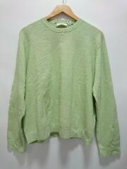 セーター(薄手)/LUZ2001205A001/S/リネン/GRN/グリーン
