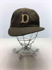 D-00001/HWDOG/ベースボールキャップ/FREE/ウール/KHK
