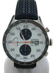 自動巻腕時計・カレラ1887クロノグラフマクラーレン/アナログ/WHT/40周年記念限モデル