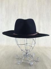 BROOKLYN HAT/中折れハット/--/ウール/BLK