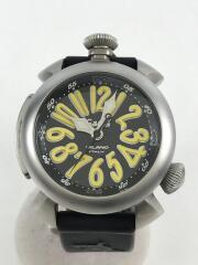 自動巻腕時計/アナログ/ラバー/BLK/5040.2
