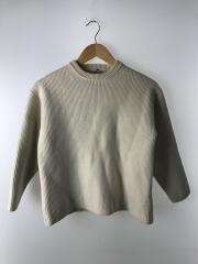 セーター(厚手)/4/ウール/IVO/首汚れ/洗い縮み