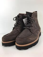 KUSKA/ブーツ/27cm/BLK/スウェード