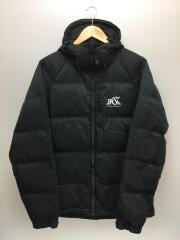 ダウンジャケット/XL/ナイロン/BLK