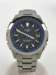 ソーラー腕時計・OCEANUS/アナログ/SLV