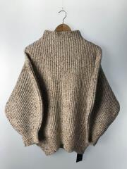 セーター(厚手)/FREE/ポリエステル/WHT