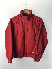 ブルゾン/M/ナイロン/RED