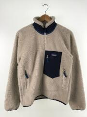 フリースジャケット/XS/ポリエステル/WHT/23056