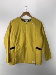 ジャケット/O/ナイロン/YLW/TA934/V94473/中綿/ノーカラージャケット
