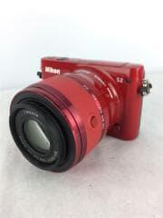 ニコン/デジタル一眼カメラ Nikon 1 S2 ズームレンズキット [レッド]