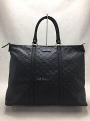 GUCCI/グッチ/トートバッグ/レザー/BLK/総柄
