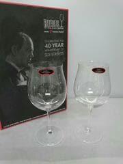 グラス/2点セット/CLR/Years Anniversary/Bordeaux Grand Cru Wine