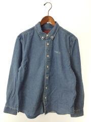 20AW/Classic Logo Denim Shirt/タグ付/長袖シャツ/M/コットン/IDG