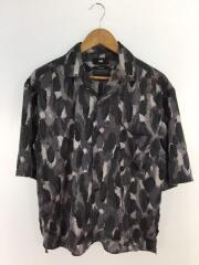 オープンカラーシャツ/HA020026AA/半袖シャツ/S/ポリエステル/PUP/総柄