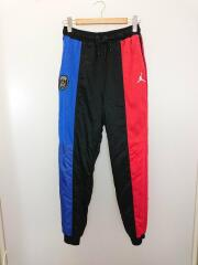 Jordan Mens PSG Track Pant Black Blue Red/トラックパンツ/S/ナイロン