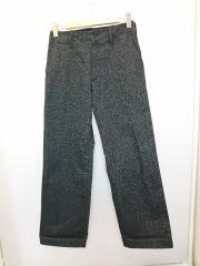 WASHED FINX POLYESTER CHINO PANTS/A9AP01PN/チノパンツ/3/コットン/GRY