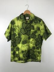 アロハシャツ/--/コットン/GRN/花柄