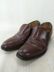ドレスシューズ/ローファー/革靴/レザー/ブラウン/茶色/ビジネスシーン/靴/フォーマル