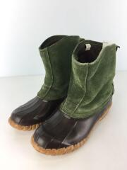 D-9300/SLUSHER PULL-ON/ブーツ/靴/US10/緑/グリーン/スウェード/アウトドア