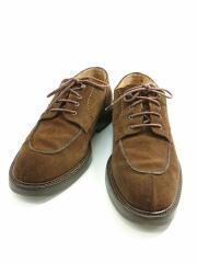 ドレスシューズ/UK8.5/716/スウェード/ブラウン/茶色/靴/クツ/フォーマル/紐