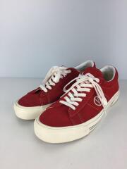 SID DX/ローカットスニーカー/シューズ/靴/27cm/赤/レッド/スウェード/刺繍