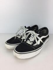 オールドスクール/ローカットスニーカー/シューズ/靴/27cm/黒/ブラック/キャンバス/カジュアル