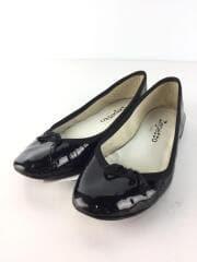 Babies Rose/パンプス/エナメル/ブラック/黒/フラット/ローヒール/レディース/シューズ/靴/