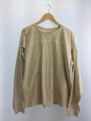 20SS/Sleeve Slit Long T-Shirts/FREE/コットン/BEG/12010614
