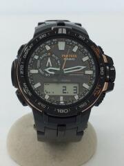 腕時計/デジタル/ラバー/SLV