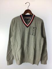 セーター(薄手)/L/コットン/GRY/C8878E5901