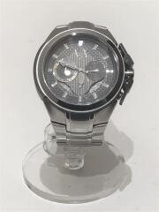 AX1039/クォーツ腕時計/アナログ/ステンレス/GRY/SLV