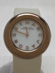 クォーツ腕時計/アナログ/--/WHT/MBM8556